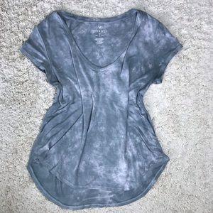 American Eagle Tie Dye Soft & Sexy T Shirt